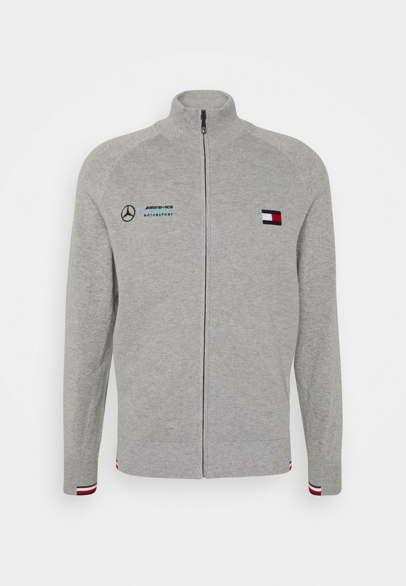 Tommy Hilfiger Tailored - TOMMY X MERCEDES-BENZ - Cardigan - grey