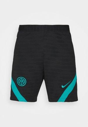 INTER MAILAND SHORT - Club wear - black/turbo green
