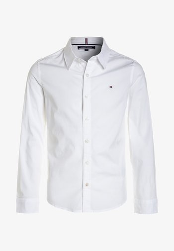 BOYS SOLID STRETCH - Košile - bright white
