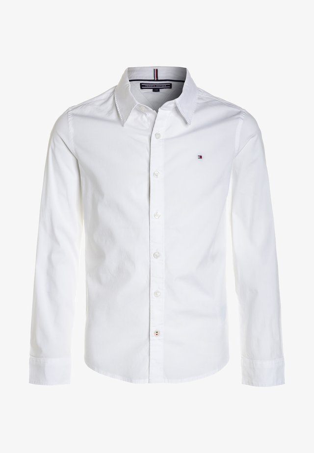 BOYS SOLID STRETCH - Shirt - bright white
