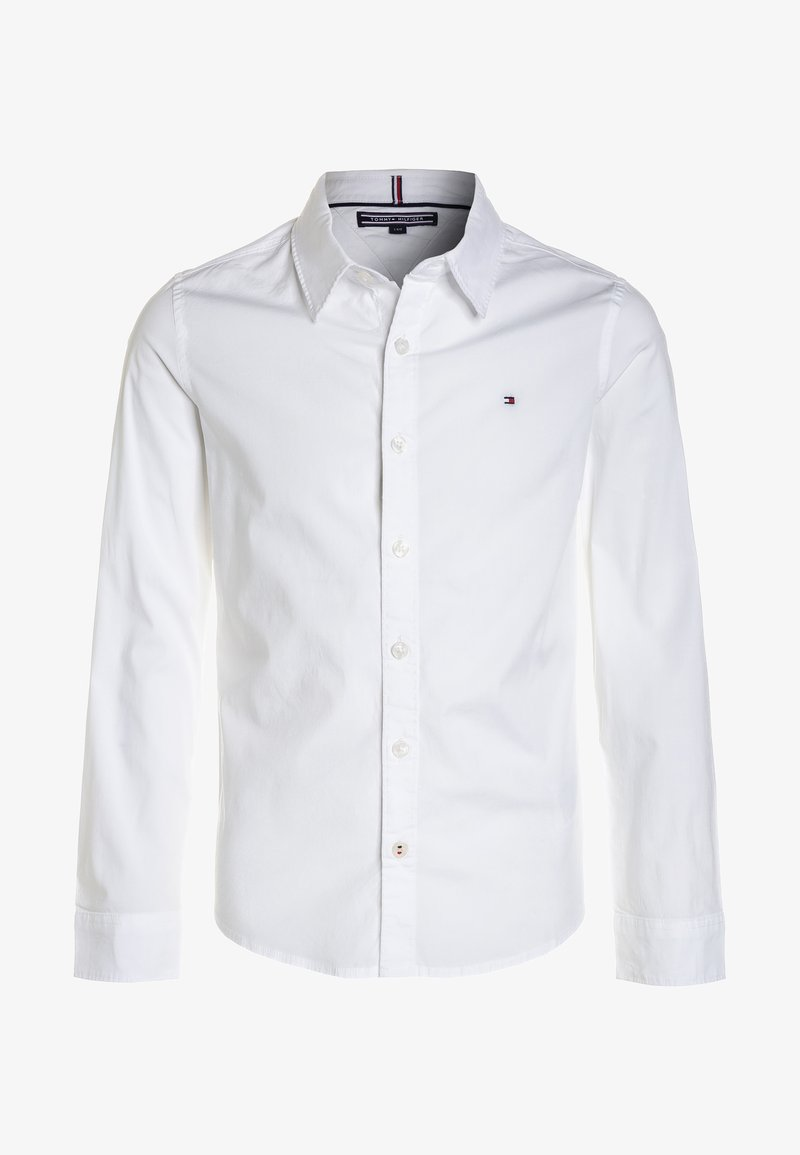 Tommy Hilfiger - BOYS SOLID STRETCH - Camicia - bright white