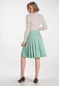 Spieth & Wensky - RUMENA - A-line skirt - grã¼n - 1