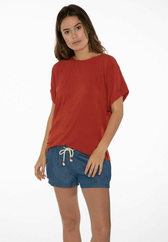 EXPLORE - T-shirt basic - clay