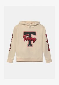 Tommy Hilfiger - VARSITY GRAPHIC HOODIE - Sweatshirt - yellow - 0