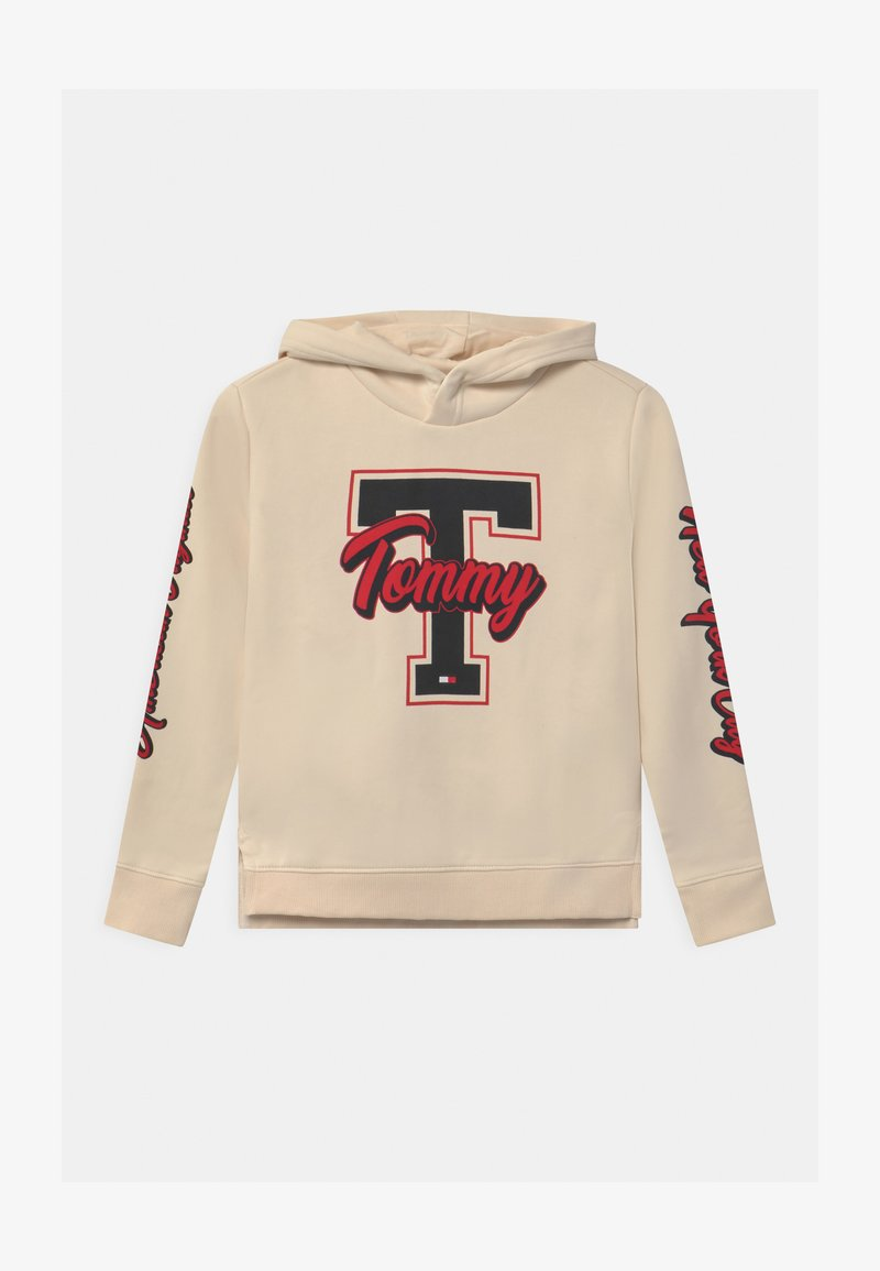 Tommy Hilfiger - VARSITY GRAPHIC HOODIE - Sweatshirt - yellow
