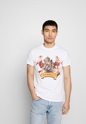 CHEETAH TEE - T-shirt con stampa - white