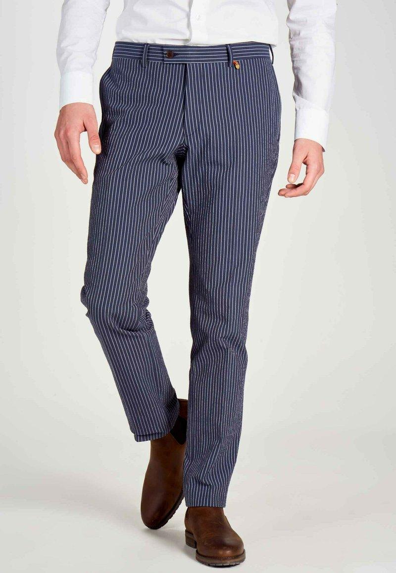 MDB IMPECCABLE - Trousers - dark blue