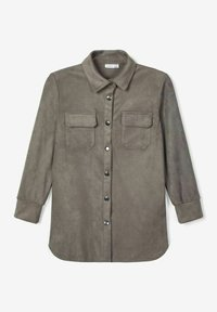 Name it - Button-down blouse - granite grey - 2