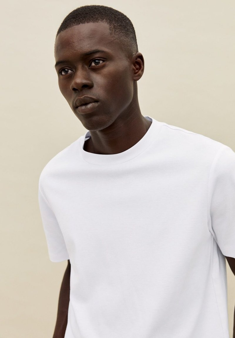 Mango T-Shirt basic - blanc/weiß 3TNkCb