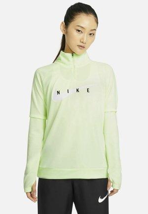 RUN MIDLAYER - Sports shirt - barely volt