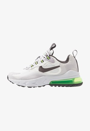 AIR MAX 270 REACT - Tenisky - summit white/silver lilac/electric green/vast grey