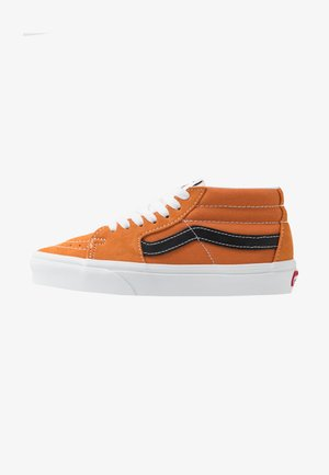 SK8 MID UNISEX - Höga sneakers - apricot buff/true white