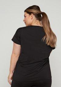 Active by Zizzi - Print T-shirt - black - 2