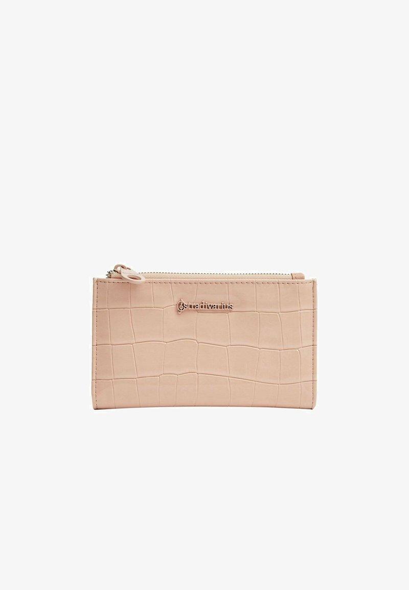 Stradivarius - Wallet - mottled light pink