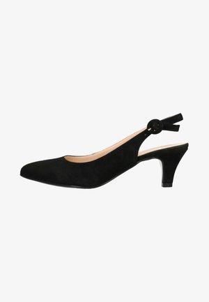 MIT KITTEN HEEL - Classic heels - black