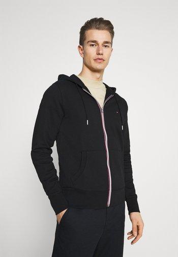CORE C ZIP HOODIE - Zip-up sweatshirt - black