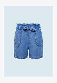 Pepe Jeans - Džínové kraťasy - bleach blue - 0
