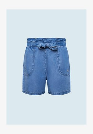 Denim shorts - bleach blue