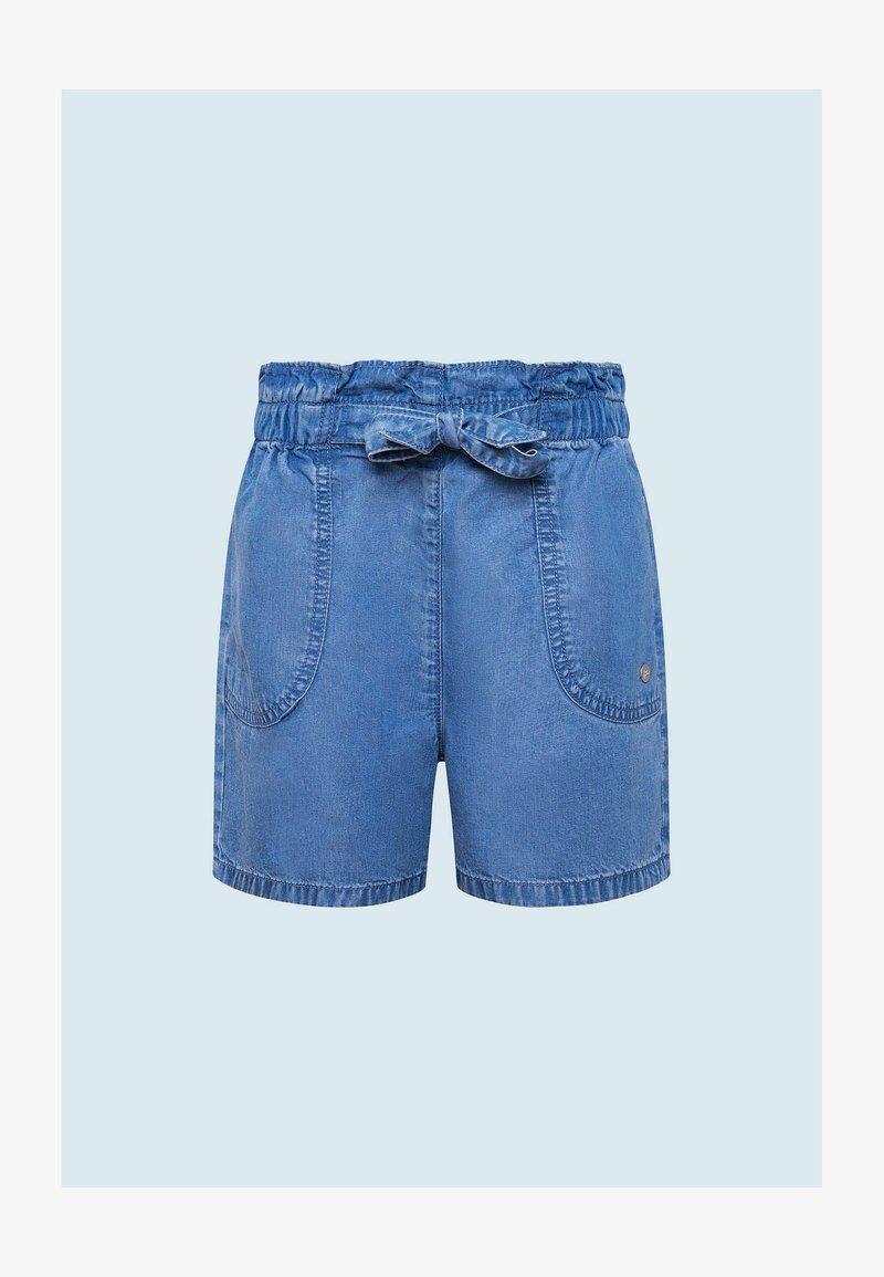 Pepe Jeans - Džínové kraťasy - bleach blue
