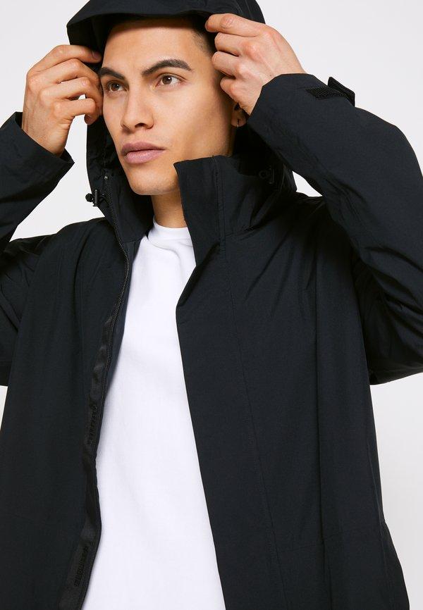 adidas Performance URBAN - Kurtka przeciwdeszczowa - black/czarny Odzież Męska HJBS