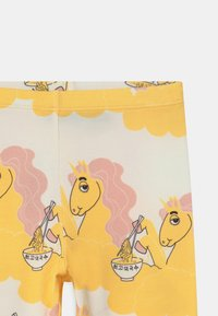 Mini Rodini - UNICORN NOODLES UNISEX - Leggings - Trousers - yellow - 2