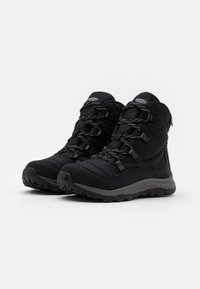 Keen - TERRADORA II ANKLE BOOT WP - Snowboots  - black/drizzle - 1