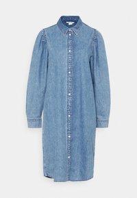 Monki - Denimové šaty - blue medium dusty - 5
