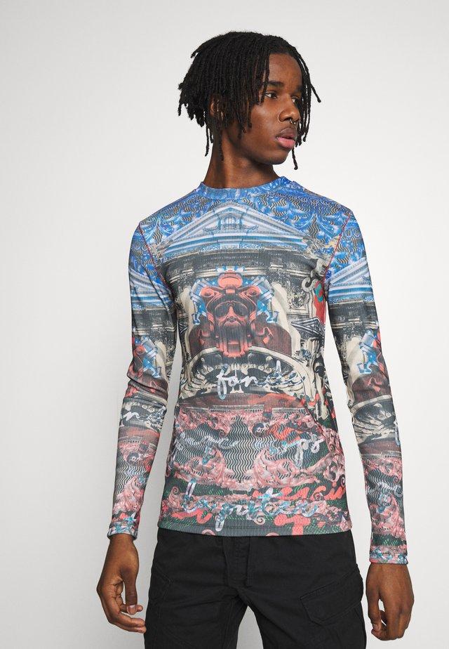 BRIGHT VINTAGE STATUE - Langærmede T-shirts - multicoloured