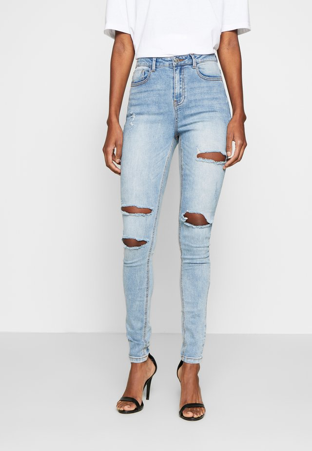 SINNER WAISTED AUTHENTIC RIPPED MID - Jeans Skinny Fit - blue
