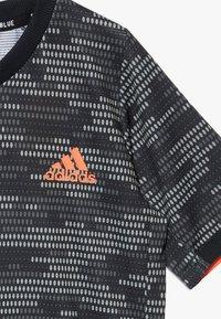 adidas Performance - Print T-shirt - black/truora - 3