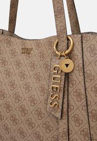Guess - NAYA TOTE - Handbag - latte - 6