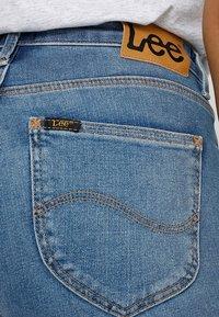 Lee - SCARLETT HIGH ZIP - Jeans Skinny Fit - blue aged - 5