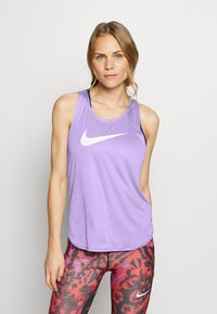Nike Performance - TANK RUN - Funktionsshirt - light thistle/reflective silver - 0
