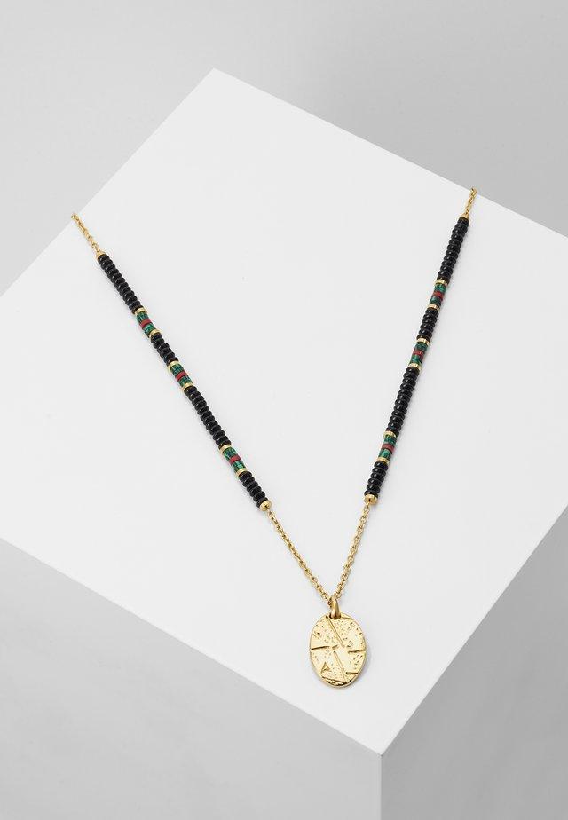 MACRAMÉ CHARM NECKLACE - Necklace - black