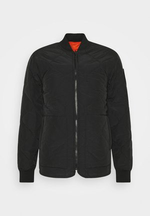 STENCIL - Light jacket - black/orange