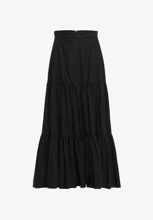 GEORGINA LEAF - A-line skirt - black