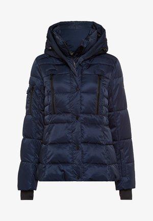 Down jacket - dark navy varied