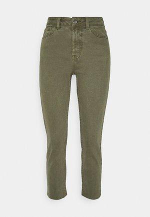 ONLEMILY LIFE RAW - Straight leg jeans - kalamata