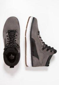 Park Authority - Sneakers hoog - dark grey/black - 1
