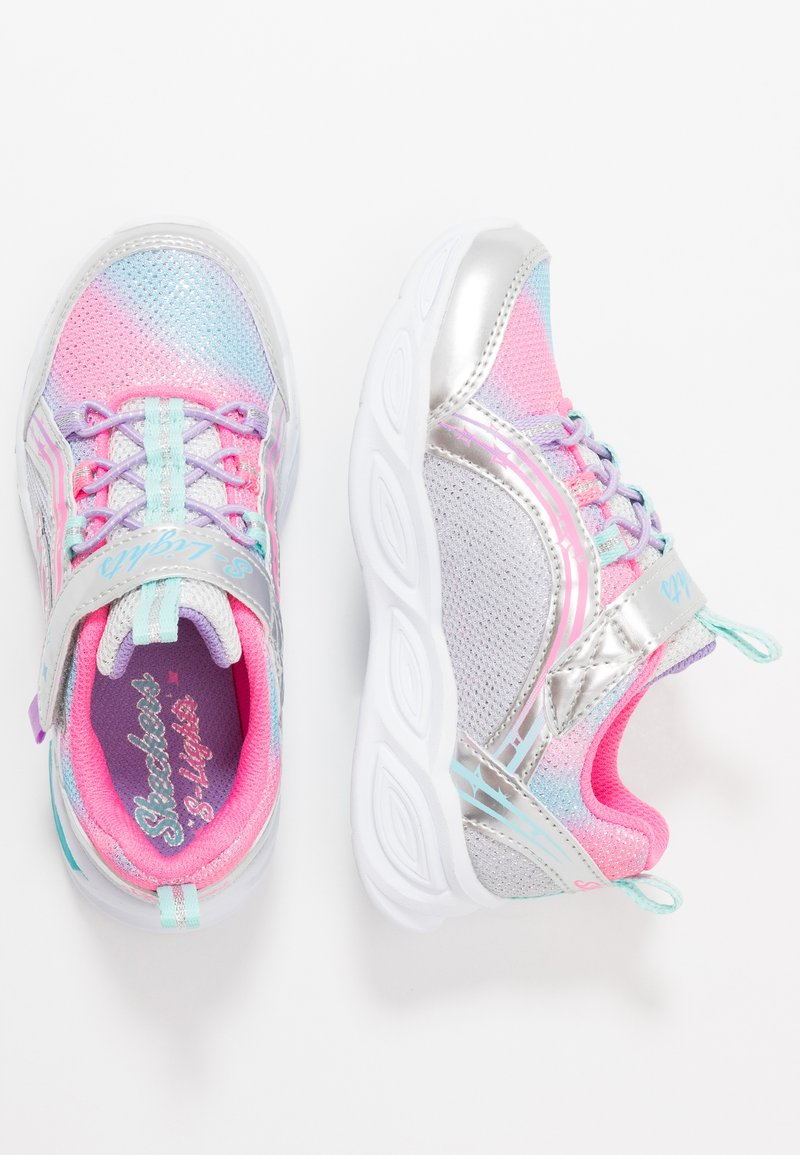 Skechers - SHIMMER BEAMS - Trainers - silver/multicolor