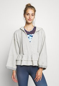 Free People - SIDE SWEPT HOODIE - Hoodie - grey - 0