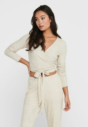 Long sleeved top - oatmeal
