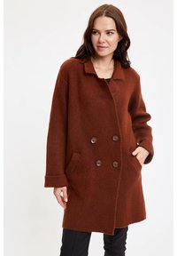 DeFacto - Manteau court - brown - 3