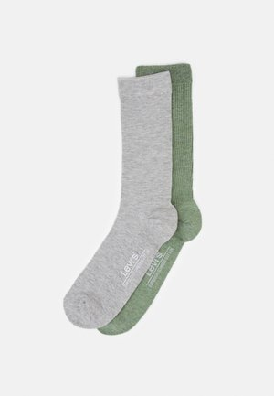 CYLINDER REGULAR CUT 2 PACK - Socken - green/grey