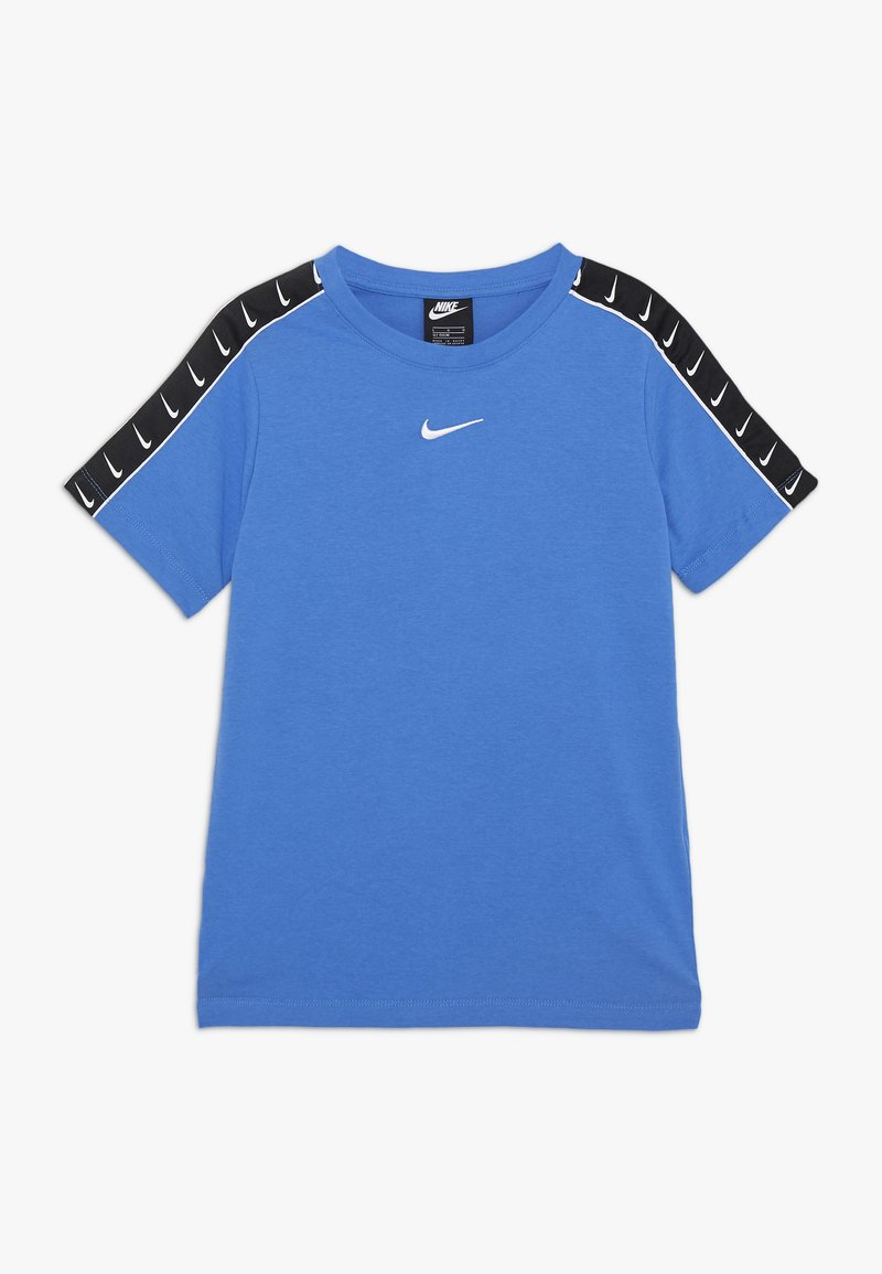 Nike Sportswear - TEE TAPE - Triko spotiskem - pacific blue