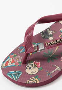 Havaianas - TOP TRIBO - Pool shoes - bordeaux - 2