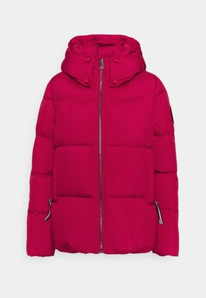 PUFFY HOODED - Dunjakker - royal magenta