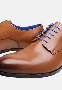 SHOEPASSION - NO. 5619 BL - Smart lace-ups - nut brown - 4