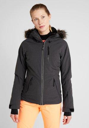VAUXITE JACKET - Snowboard jacket - dark grey melee