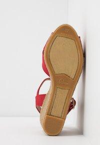 Castañer - BLAUDELL - Sandály na vysokém podpatku - rojo - 6